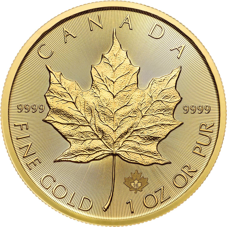 canadian maple leaf gold - HD1500×1500