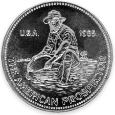 A product of the Engelhard mint