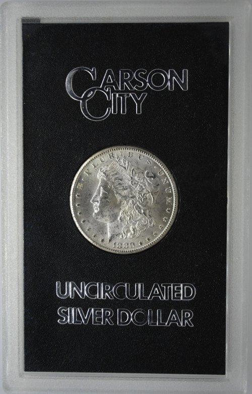 GSA Carson City Morgan Silver Dollars