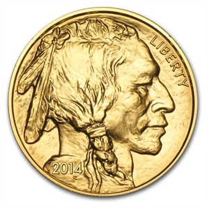 Gold American Buffalos Bullion