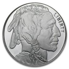 1 oz .999 Buffalo Silver Round