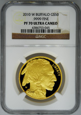 US buffalo gold coin