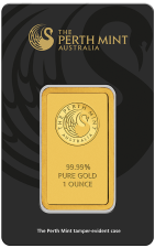 A coveted Perth mint gold bar
