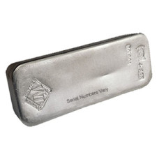 100 oz .999 JM Silver Bar