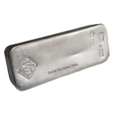 100 oz .999 JM Silver Bar