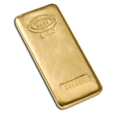 1 Kilo Gold Bar – (.9999 Pure)