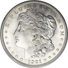 1921 Morgan Dollars – F+ Grade