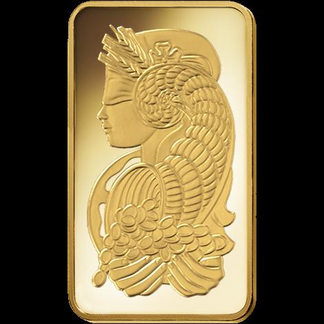 10 oz .9999 Pamp Fortuna Gold Bar