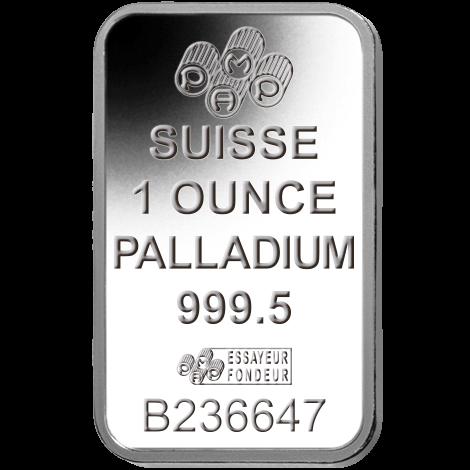 Palladium Bars