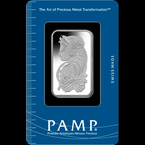 1 oz .9995 Pamp Palladium Bar (Carded)