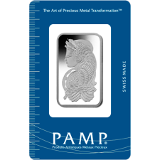 1 oz .9995 Pamp Fortuna Platinum Bar