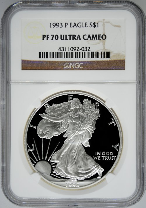 NGC PF70 Proof Silver Eagles