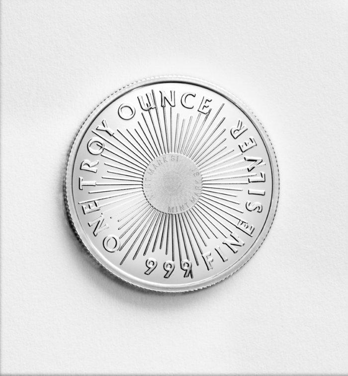 1 oz .999 Sunshine Silver Round