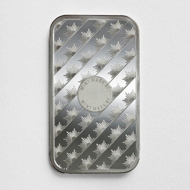 1 Oz 999 Sunshine Mint Silver Bar Enterprise Bullion