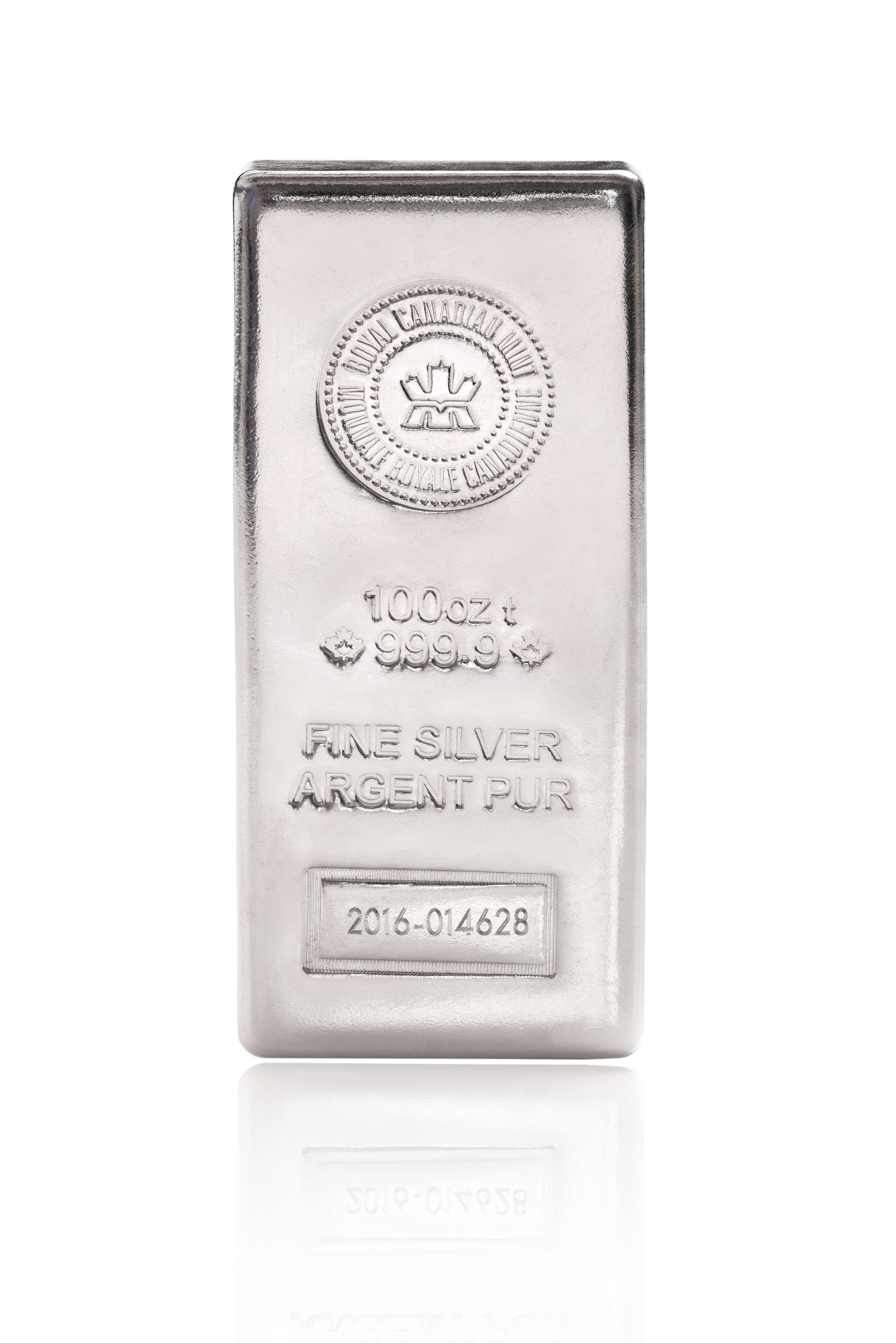 100 Oz 999 Rcm Silver Bar New Style Enterprise Bullion