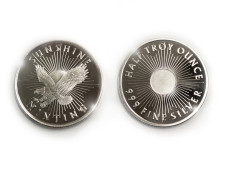 1/2 oz .999 Sunshine Mint Silver Round