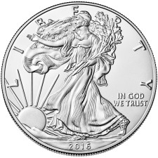 Uncirculated 1 oz Silver Eagles Various Years