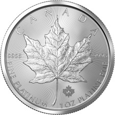 Canadian platinum coins are popular
