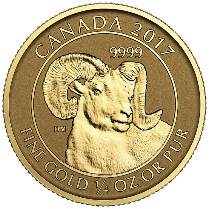 The Canadian gold coin value likely raises over time