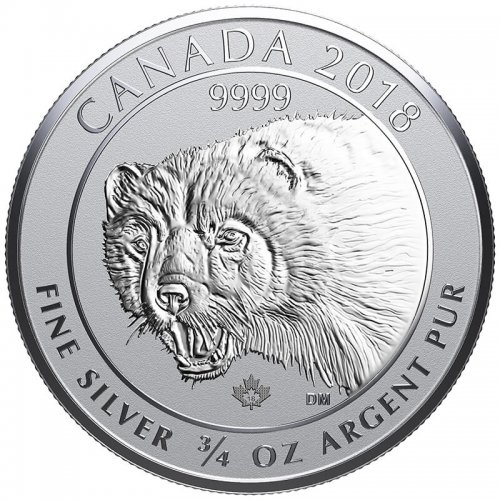 2017 Canadian Bighorn Sheep 3 4 Oz Silver Coin